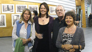 Photo of Cynthia, Bettina, Oded and Ruth